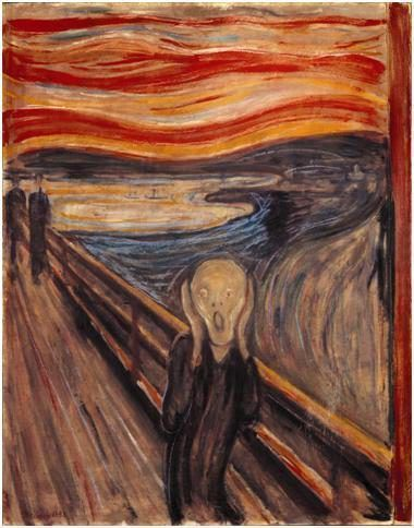 El grito de Munch, una suerte de expresionismo